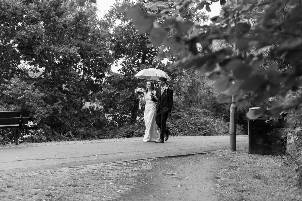 Cathy and Matt wedding at St Davids church woking